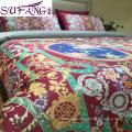 egyption cotton fabric digital printed bedding set