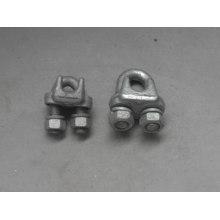 Pinzas de sujeción galvanizadas en caliente por inmersión, pinza de cable (serie JK)