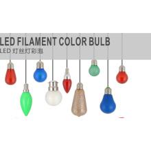 E14, E12 2W Xc35 Edison Filament LED Bombilla de luz