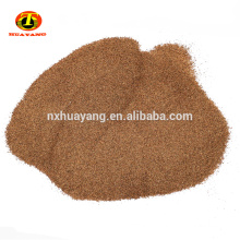 Bulk walnut powder in shell for abrasives