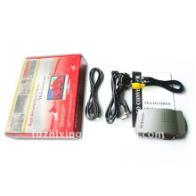 Brand New Portable PC VGA to RCA Composite TV Video S-Video Signal Converter Adapter Box