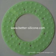 Joint de douche en caoutchouc en silicone et joint de douche