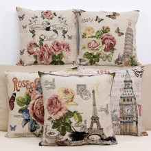 Decorative Jacquard Cushion for Home