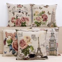 Декоративные жаккардовые подушки для дома