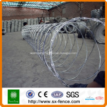 ISO9001  razor barbed wire mesh