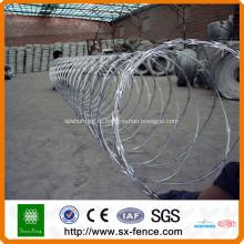 Сертификат ISO9001 сетка колючей проволоки бритвы