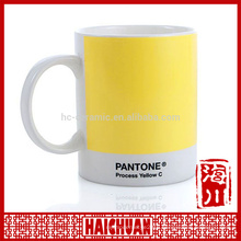 HCC high quality coffee mug with decal fired