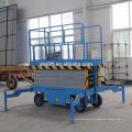China fornecimento de fábrica 4-20 m hidráulica móvel tesoura elevador