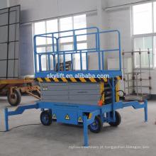 CE habilitado China fornecimento de fábrica hidráulica móvel tesoura elevador