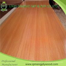 Suministre la madera contrachapada de la melamina de 12m m con la base del álamo y de la madera dura