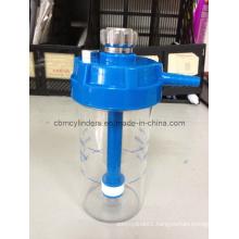 Non-Disposable Oxygen Humidifier Bottles W/ Safety Valves (BM-6HM2B)