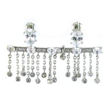 Good Quality and Fashion Jewelry for Woman 925 Silver Earring (E6485)