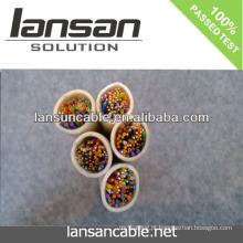 LANSAN Cabo de alta velocidade de 5 pares de cabos CE UL ISO APPROVAL