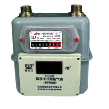 Household Steel Case Diaphragm Gas Meter G1.6/ G2.5/G4