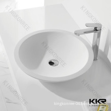 Good Quality Solid Surface Marble Counter Top Wash Basin
