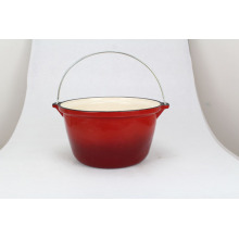 Ecofriendly Red Enamel Casserole