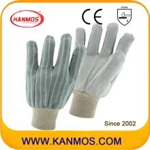 工業用手の安全な完全な牛の分割革の作業手袋(110202)