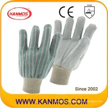 Industrial mano de seguridad vaca completa Split cuero guantes de trabajo (110202)