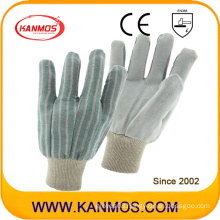 Industrial Hand Safety Full Cow Split Leather Work Gloves (110202)