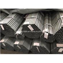 Tubo de aço galvanizado / tubo de aço galvanizado / galvanizado canalização / Zn revestido-83