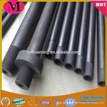 customized carbon graphite tube / pipe manufactured by Huaming