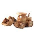 Hölzernes Spielzeugmodell FQ-Marke scherzt flaches Exkavatorraketen