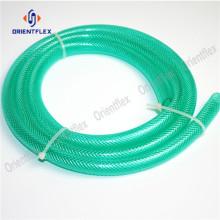 Mangueira plástica reforçada trançada flexível flexível da fibra do PVC