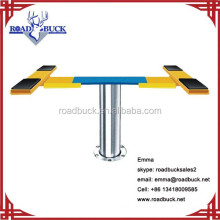 pneumatic and hydraulic single post car lift in ground lift