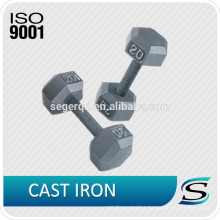 gym dumbbell made of cast iron