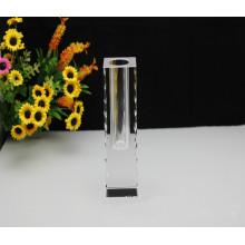 Einfache Art und Weise Kristallvase für dekoratives Haus (Ks36874)