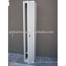 Armario de una puerta de metal