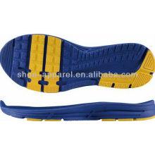 Suela de zapato deportivo running 2013 suela de zapato al por mayor