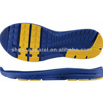 2013 running sport shoe sole wholesale shoe sole