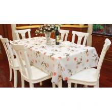 EVA \ PEVA Table Cover, Flower Design
