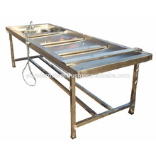 Stainless Steel Postmortem Autopsy Table