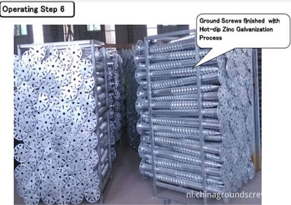 ground screw packing