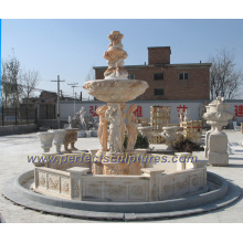 Garden Marble Fountain for Stone Water Fountain (SY-F211)