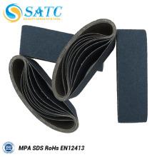 La correa lijadora al por mayor abrasiva de la correa abrasiva del óxido de circonio para moler incluye la arena 40-120