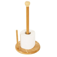 Bamboo tissue paper roll holder
