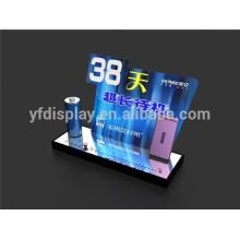 Affichage acrylique de téléphone portable, affichage acrylique