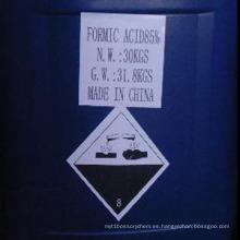 Fabricación Usada en Ácido Formico de Grado Industrial 85%