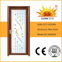 Projeto interno da porta da liga de alumínio de Wc (SC-AAD050)