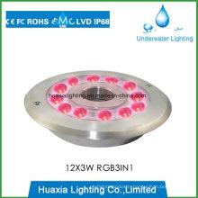 DC12/24V LED Fountain Underwate Light for 316 Stainless Steel