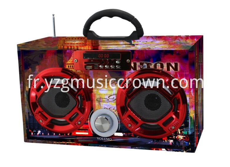 Color Paper Promotion Gift Speakers