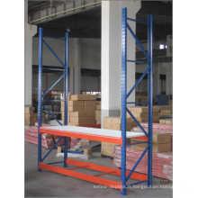 Rayonnage de stockage en acier résistant de supermarché / entrepôt