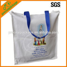 custom cotton shopping bag with handles