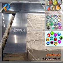 Hot Rolled Aluminum Plate 8011 for Bottle Cap