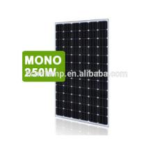 Chegou novo yangzhou popular no Oriente Médio 12 v painel solar / PV painel solar preço 250 w