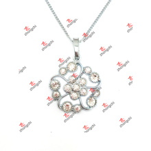 Fashion Crystal Flower Charms Pendant Jewelry (DLD60128)