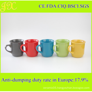 Hot Sell High Quality Ceramic Coffee Mug in Different Colors